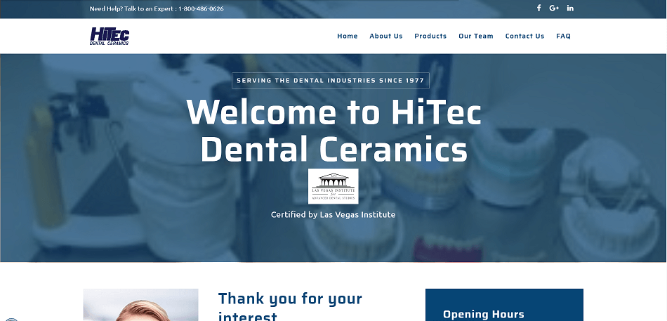 HiTec Dental Ceramics